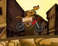 Scooby Doo BMX action j�t�k